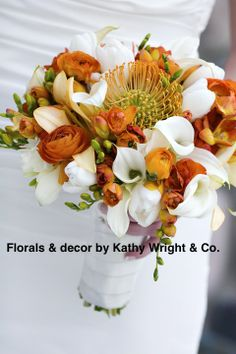Florals & decor by Kathy Wright & Co.  Stunning!