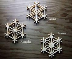 Japanese lattice Kumiko