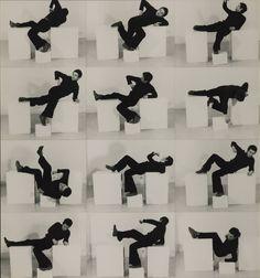 Bruce Mclean, Pose-Work for Plinths 1, 3, 1971