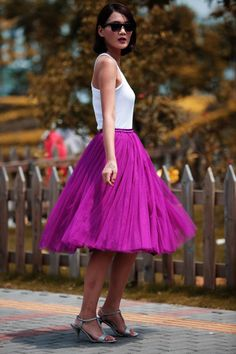 love tulle skirts so much!!!