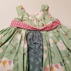 Dresses Baby & Toddler Clothing Glorious Matilda Jane Sz 2 Vigilante Tank Dress Euc 100% Original