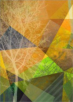 Poster 90 x 120 cm: P24-4 von Pia Schneider   atelier COLOUR-VISION #kunst #art…