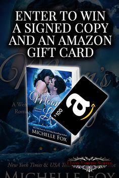Win a $100 Amazon Gift Card from NY Times Bestselling http://www.ilovevampirenovels.com/giveaways/win-100-amazon-gift-card-michelle-fox/?lucky=29732Author Michelle Fox