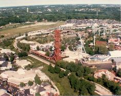 The Edge Great America Gurnee, located in Orleans Place along side the railroad Great America, Water Parks, Amusement Parks, Flags, Paris Skyline, Dolores Park, Nostalgia, California, Memories