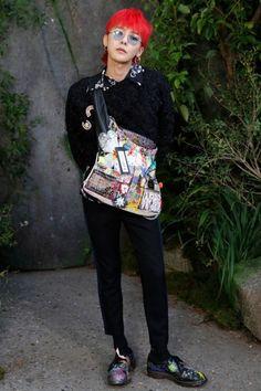 Kwon Ji-yong aka G-Dragon Daesung, Vip Bigbang, Choi Seung Hyun, Seoul Fashion, Korean Fashion, Paris Fashion, Kpop Fashion, G Dragon Fashion, K Pop