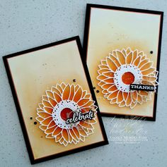 Stamping Beauty: AROUND THE WORLD ON WEDNESDAY | THE WORLD AROUND US! Sunflower Cards, Stamp Making, Crafty Projects, Cool Cards, Potpourri, Stampin Up Cards, I Card, Thank You Cards, Paper Crafts
