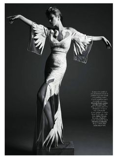 Kate Moss in Givenchy Haute Couture by Riccardo Tisci SS11 by Mert & Marcus