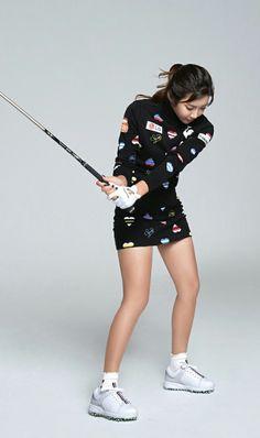 Golf Wear, Lpga, Ladies Golf, Korean, Beautiful Women, Sporty, Australia, Asian, Sweet