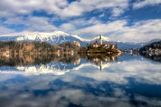 ***The silver lake reflection by Stefano Marsi (Slovenia)