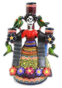 Frida Candelabra by Alfonso Castillo from Izucar de Matamoros Puebla.