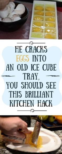 The taste of frozen eggs is similar to the taste when they are thawed. So, grab more eggs when they are on sale or use them up when you have a lot about to expire too.All you have to do is take an ice cube tray, crack the eggs and add them in it without … Food Styling, Cracked Egg, Breaded Chicken, Stuffed Chicken, Foodblogger, Healthy Tips, Healthy Foods, Stay Healthy, Healthy Smoothies
