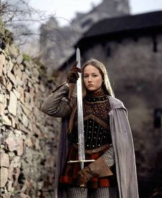 Joan of Arc - Leelee Sobieski in the film, Jeanne d'Arc