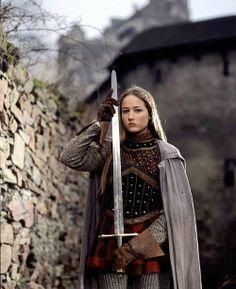 Joan of Arc - Leelee Sobieski in the film, Jeanne d'Arc