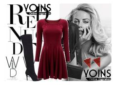 """""""YOINS YOINS YOINS DRESS"""" by milovanovic ❤ liked on Polyvore featuring women's clothing, women, female, woman, misses, juniors and yoins"""