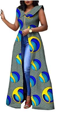 African Dresses for Women Plus Size Party wear Split Ball Gown Cocktail Ankara Clothing Clothes Long African Dresses, Latest African Fashion Dresses, African Print Dresses, African Print Fashion, Africa Fashion, Ankara Dress Styles, Ankara Dress Designs, African Fashion Designers, Ankara Mode