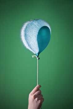 So cool - high speed balloon popping photography