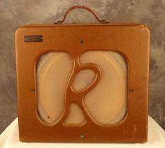 Rickenbacker M-11 in Two-Tone Brown, 1940.