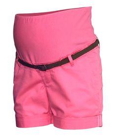 maternity chino shorts | H&M US