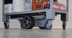 M23 Zallys, elektrický ručně vedený vychystávací vozík s policemi. Nosnost 500kg. Rychlá a snadná přeprava a vychystávání zboží ve velkých obchodech, ve skladech, ve výrobě. Espresso Machine, Police, Coffee Maker, Kitchen Appliances, Home, Espresso Coffee Machine, Coffee Maker Machine, Diy Kitchen Appliances, Coffee Percolator