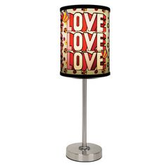 The Beatles Love Lamp now featured on Fab.