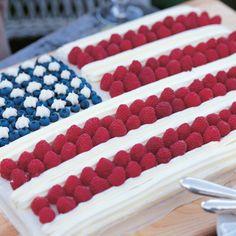 Flag Cake - Barefoot Contessa