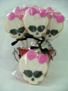 Biscoitos decorados - Monster High