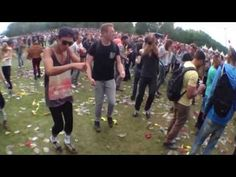 Ravers Dancing At A Music Festival Set To The Benny Hill Theme Will Change Your Life