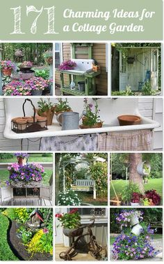 100+ Ideas for a charming cottage gardenhttp://www.hometalk.com/l/74d