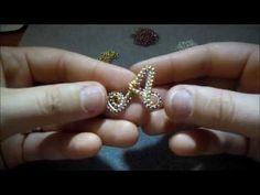 DIY - Tutorial - ciondolo wire rivestito di perline e news.wmv - YouTube