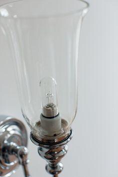 Badezimmerlampe Tulpe zur Wandmontage