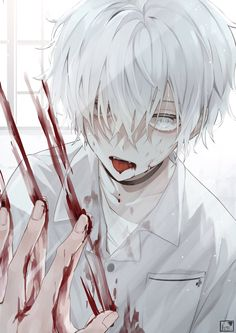 Anime Demon Boy, Dark Anime Guys, Cute Anime Character, Character Art, Manga Art, Anime Art, Dark Art Illustrations, Animes Yandere, Cute Anime Boy
