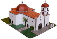 Mission San Juan Capistrano Model