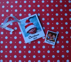 Substitute boring gift cards for polaroid greetings this season! #InstaWrap your Christmas gifts! Print yours today at www.huggleup.com
