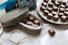 They look like they're from a fancy candy shop. But these chocolate-dipped caramels sprinkled with sea salt take just 15 minutes to make at home.