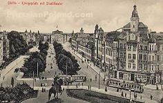Photographs, pictures, postcards and the history and attractions of Stettin, Prussia, Germany - now Szczecin in the west of Poland Family History, Good To Know, Touring, Poland, Paris Skyline, The Past, Germany, Prussia, Ww2