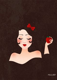 Snow White by ~SuzumeChan on deviantART #princess #disney