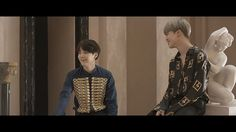 The way Jimin stares at Yoongi. { jimin yoongi yoonmin }