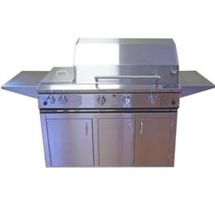 Profire Professional Series 48 Inch Propane Gas Grill With Double Side Burner  On Cart * Check this awesome product by going to the link at the image.(This is an Amazon affiliate link and I receive a commission for the sales)