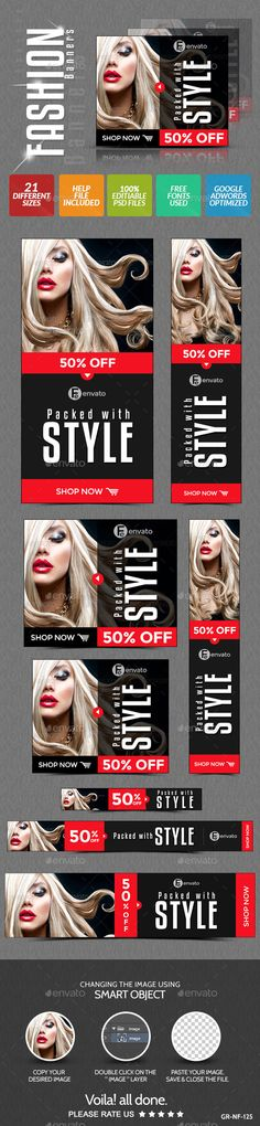 Fashion & Retail Banner Design - Banners & Ads Web Elements