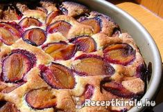 Quick plum cake with cinnamon - Backen - Toast Fruit Recipes, Dessert Recipes, Cooking Recipes, Desserts, Hungarian Cake, Hungarian Recipes, Baked Chicken Nuggets, Plum Cake, Winter Food