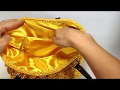 How to make Lining for a Knitted Bag? Knit Crochet, Crochet Bags, Boho Shorts, Sewing, Knitting, How To Make, Handmade, Women, Youtube