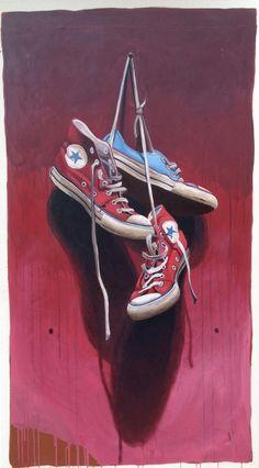 "Santiago Garcia, ""#533B"", 59 x 33, Oil & Acrylic on Canvas | Eisenhauer Gallery of Edgartown, MA"