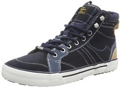 Pepe Jeans London STUART BOOT, Herren Hohe Sneakers, Blau (585MARINE), 44 EU - http://on-line-kaufen.de/pepe-jeans/44-eu-pepe-jeans-london-stuart-herren-hohe