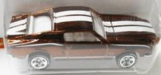 Hot Wheels Classics #1-19 1968 Mustang Brown GY5SP + Free Shipping!!