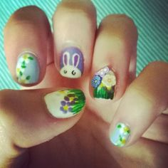 #28... Easter Bunny and 3D flowers!