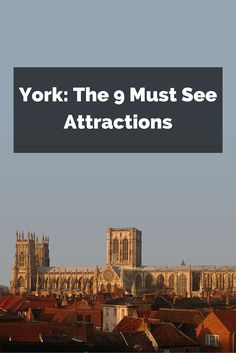 If you only go to one place outside London and the South East on your trip to England, go to York. You could spend weeks there exploring this ancient city, but here are the best places to go of you're only there for a few days...