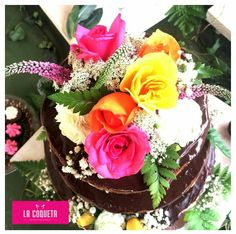 Chocolate naked cake (La Coqueta)