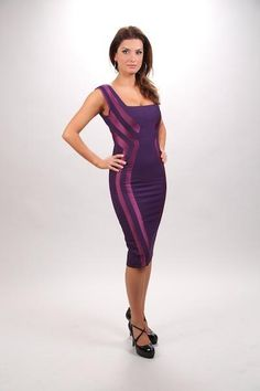 Side-Seamed Sheath Dress