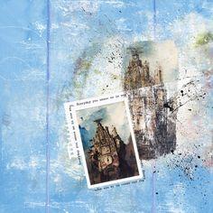Artsy Template 3 by #heartjournaling  Fantastic Templates  #digitalscrapbooking #thestudio