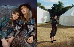 off to join the circus: jessica burley, kiki willems and aran grace by tom craig for vogue japan december 2015 | visual optimism; fashion editorials, shows, campaigns & more!